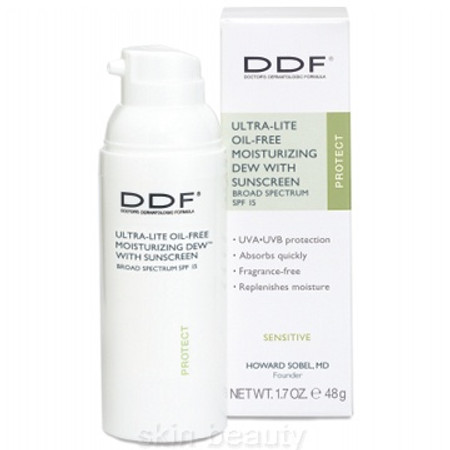DDF Ultra-Lite Oil-Free Moisturizing Dew SPF 15, 1.7 oz
