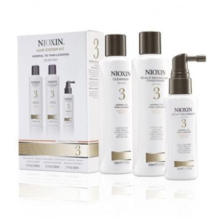Nioxin Hair System 3 Trial Kit - 3 pcs