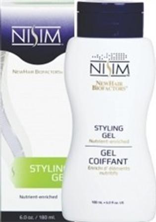 Nisim Nutrient Enriched Styling Gel, 6 oz