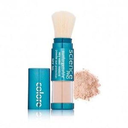 Colorescience Brush on Sunscreen SPF 50 Sunforgettable - Medium - .21 oz (403101350R2)