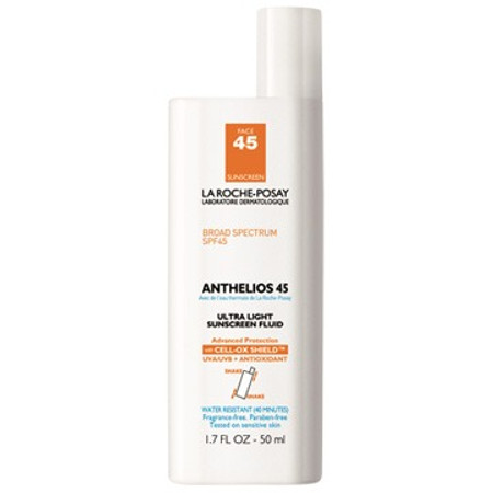 La Roche-Posay Anthelios 45 Face Ultra-light Sunscreen Fluid SPF 45 - 1.7 oz (M10532)