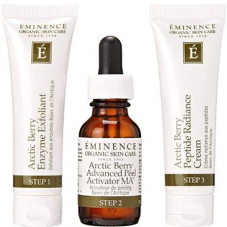 Eminence Arctic Berry Peel & Peptide Illuminating System - 3 pcs - Free with $420 Purchase