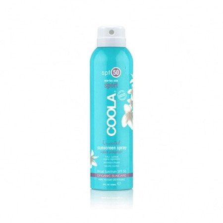 Coola Eco-Lux Sport SPF 50 Unscented Sunscreen Spray - 8 oz