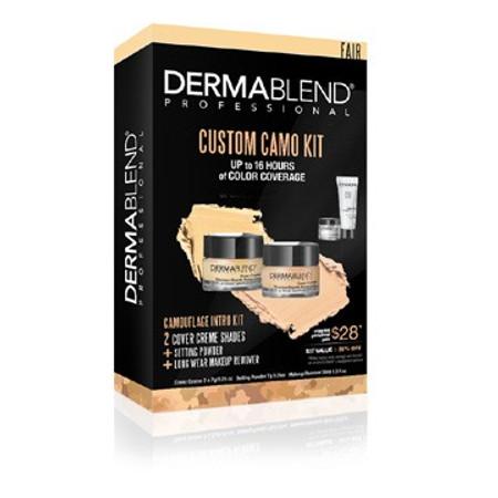 Dermablend Custom Camo Kit - Fair - 4 pcs