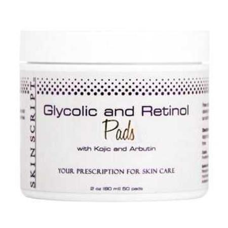 Skin Script Glycolic and Retinol Pads - 50 pads (13865)