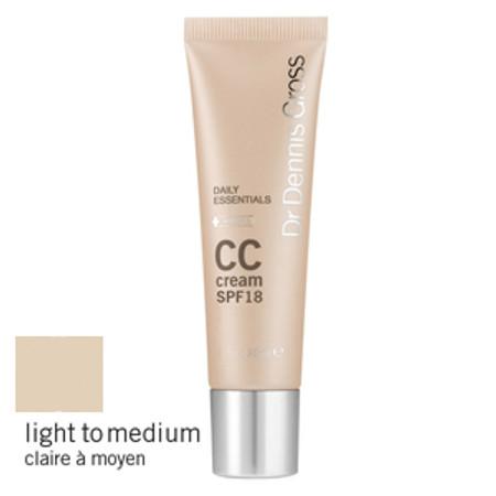 Dr. Dennis Gross CC Cream Broad Spectrum SPF 18 - 1 oz - Light to Medium