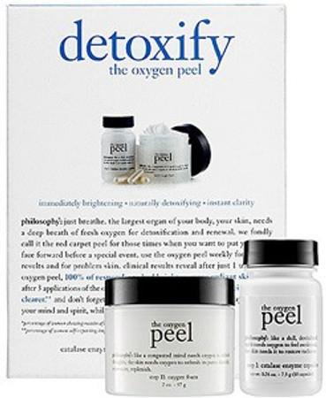 Philosophy Detoxify The Oxygen Peel - 10 Applications