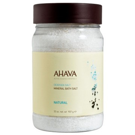 AHAVA DeadSea Salt Natural Bath Salt - 32 oz