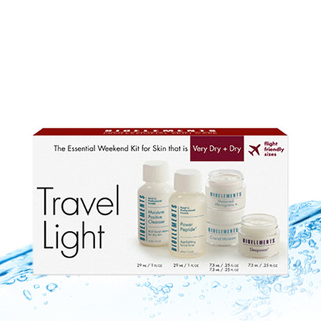 Bioelements Travel Light Kit Very Dry + Dry