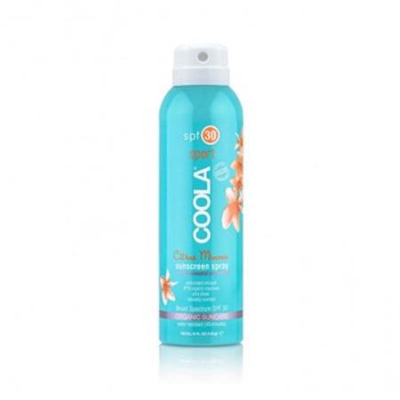 Coola Sport SPF 30 Citrus Mimosa Sunscreen Spray - 6 oz