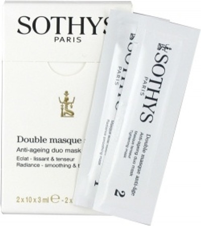 Sothys Anti-aging Duo Mask, 2 x 10 packettes of 3 ml