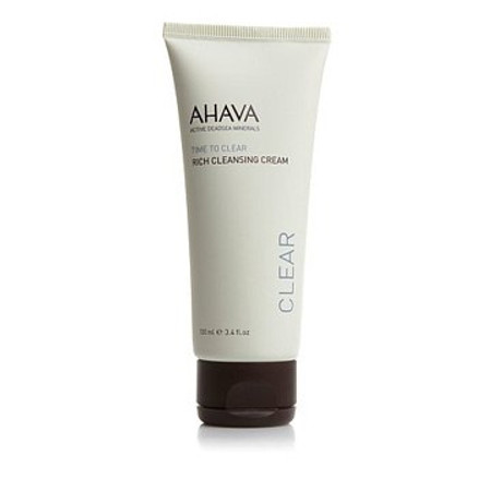 AHAVA Time To Clear Rich Cleansing Cream - 3.4 oz