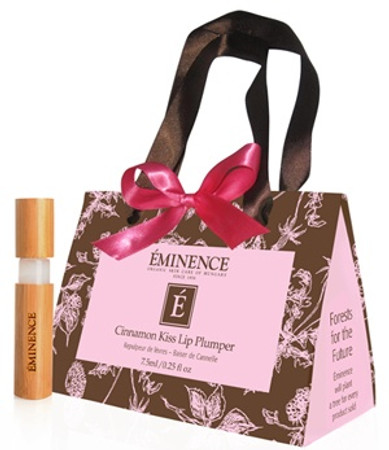 Eminence Cinnamon Kiss Lip Plumper in Gift Bag - .25 oz