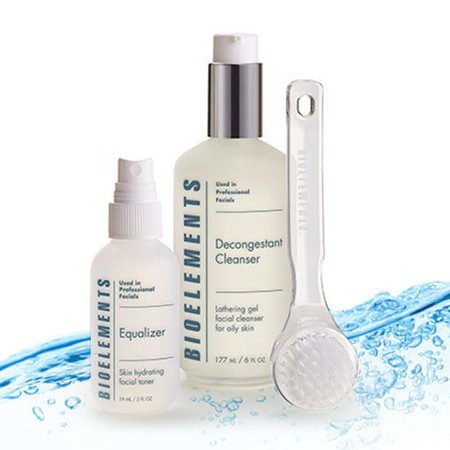 Bioelements Fresh Faced Oily Skin Cleansing Kit - 3 pcs
