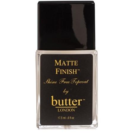 Butter London Matte Finish Shine Free Topcoat Treatment - .6 oz