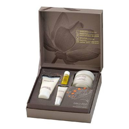 DECLEOR Secret of Delight Holiday Set for Dry Skin, 4 piece collection