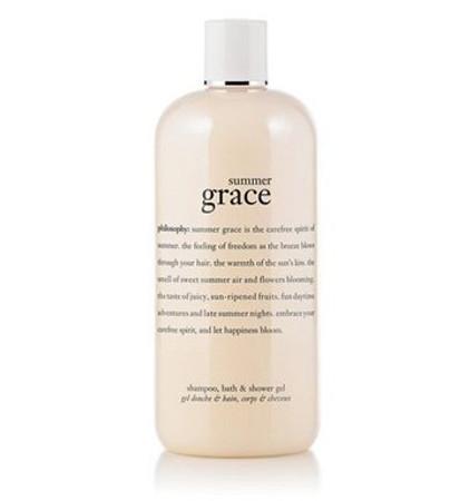 Philosophy Summer Grace Perfumed Shampoo, Bath & Shower Gel - 16 oz