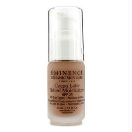 Eminence Cocoa Latte Tinted Moisturizer SPF 25 - Medium to Dark - 1.2 oz