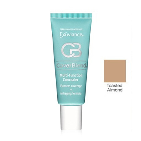 Exuviance CoverBlend Concealing Treatment Makeup SPF 30 - Toasted Almond - 1 oz