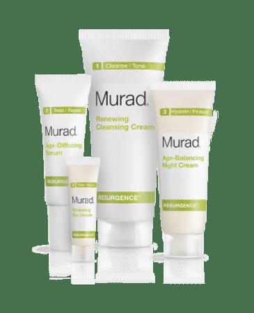 Murad Resurgence Youthful Skin Renewal Kit - 4 pcs