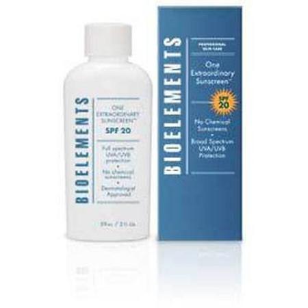 Bioelements One Extraordinary Sunscreen SPF 20, 2 oz (59 ml)