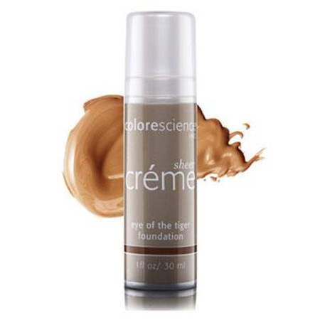 Colorescience Pro Foundation Sheer Cream Liquid Coverage - Eye Of The Tiger - 1 oz