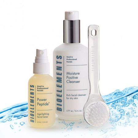 Bioelements Fresh Faced Dry Skin Cleansing Kit - 3 pcs