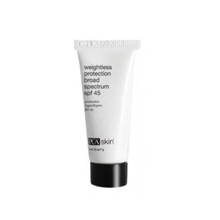 PCA Skin Weightless Protection SPF 45 Travel Size - 0.25 oz