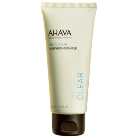 AHAVA Time To Clear Purifying Mud Mask - 3.4 oz