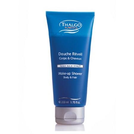 Thalgo Men Wake-Up- Shower (Body & Hair), 6.7 oz (200 ml)