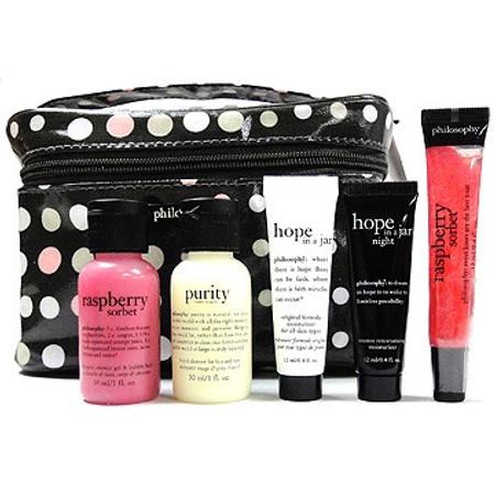 Philosophy Believe in Miracles Cosmetics Bag Set - 6 pcs
