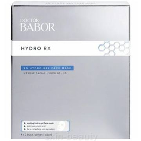 Doctor Babor Hydro-RX 3D Hydro Gel Face Mask - 4 x 2 pcs (468535)