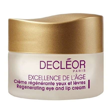 Decleor Excellence De L'Age Regenerating Eye and Lip Cream, .5 oz (E1131200)