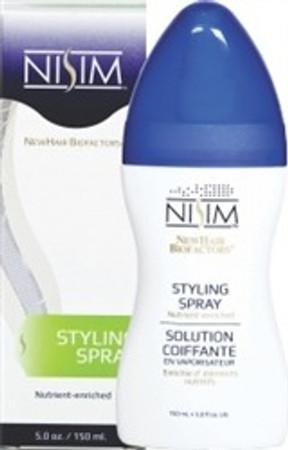 Nisim Nutrient Enriched Styling Spray, 5 oz