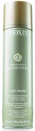 Nioxin Smoothing Reflectives Fast Finish Extra Hold Hairspray - 8.8 oz