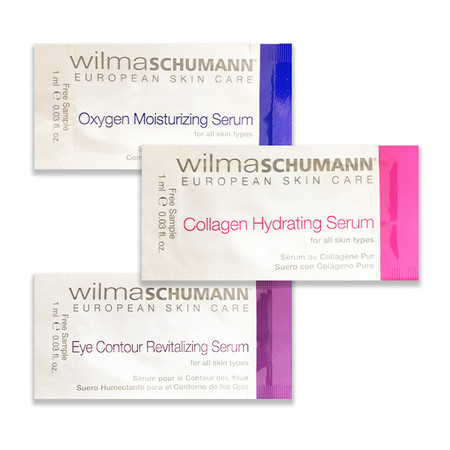 Wilma Schumann Free Samples- Limit One Package per Order