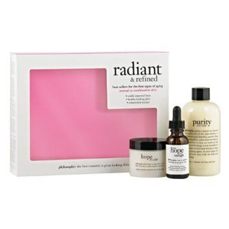 Philosophy Radiant & Refined For Normal to Combination Skin Kit - Free with $210 Purchase