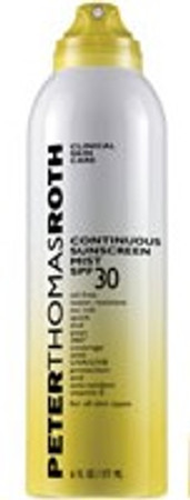 Peter Thomas Roth Continuous Sunscreen Mist SPF 30, 6 oz