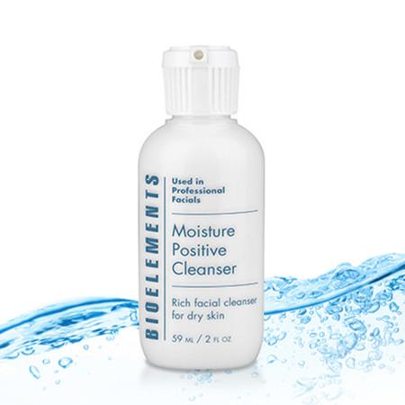 Bioelements Moisture Positive Cleanser - Travel Size - 2 oz