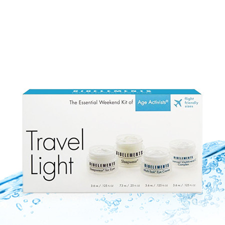 Bioelements Travel Light Kit - Age Activists - 4 pcs