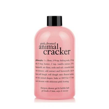 Philosophy Pink Frosted Animal Cracker Shampoo Shower Gel & Bubble Bath - 16 oz