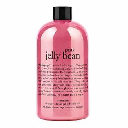 Philosophy Pink Jelly Bean Watermelon Shampoo, Shower Gel & Bubble Bath - 16 oz