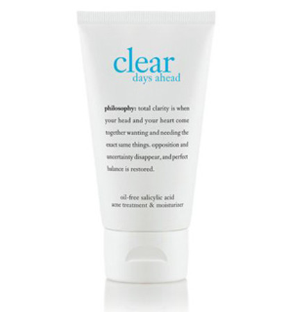 Philosophy Clear Days Ahead Acne Treatment & Moisturizer - 2 oz