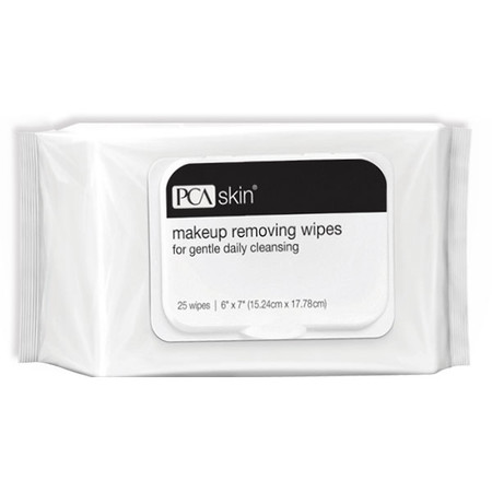 PCA Skin Makeup Removing Wipes - 25 wipes