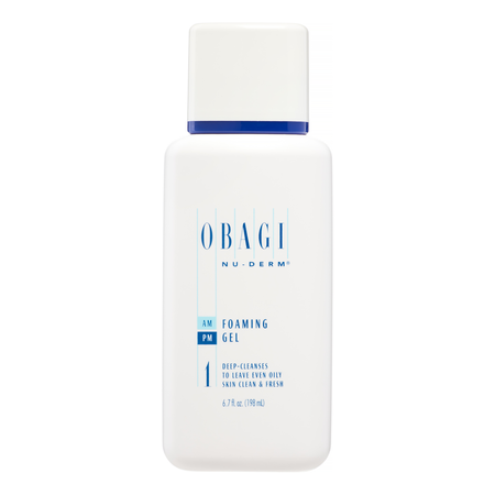 Obagi Nu-Derm Foaming Gel, Face Wash for All Skin Types