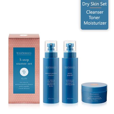 Bioelements 3-Step Starter Set Dry Skin