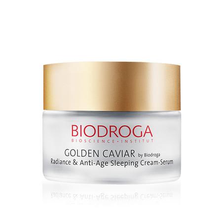 Biodroga Golden Caviar Radiance And Anti-Age Sleeping Cream Serum