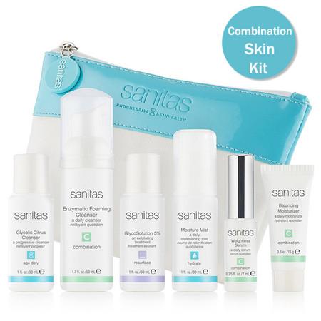 Sanitas Combination Skin Kit