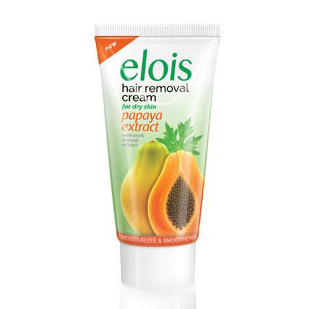 Elois Hair Removal Cream Dry Skin Papaya Extract