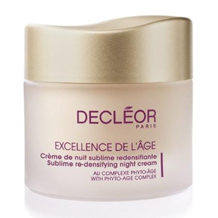 Decleor Excellence De L'Age Sublime Re-Densifying Night Cream, 1.7 oz (E1158300)